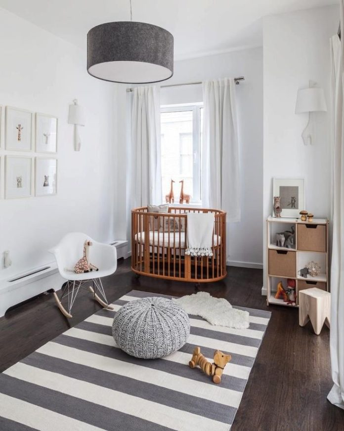 como amueblar un dormitorio de bebe con menos de 7