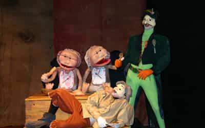 Representación teatral para niños