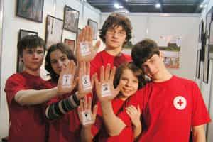 Voluntarios de Cruz Roja Juventud