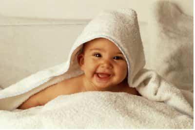 La piel del bebé