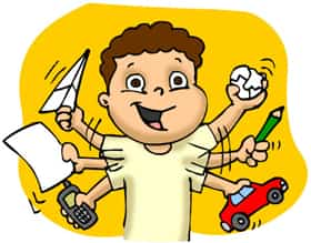 El niño con TDAH