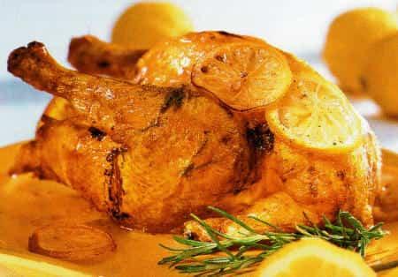 pollo naranja