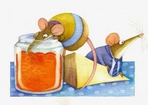 ratones-comiendo