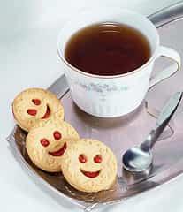 té en taza