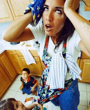 mama estresada
