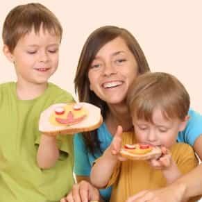 helping kids eat healthy