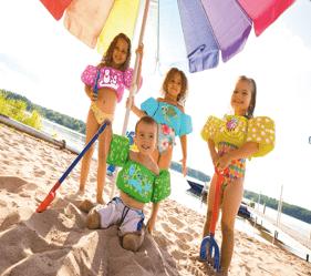niños con Puddle Jumper