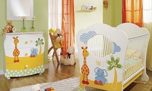 Preparando la habitación del bebé