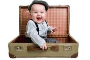 viajar bebe