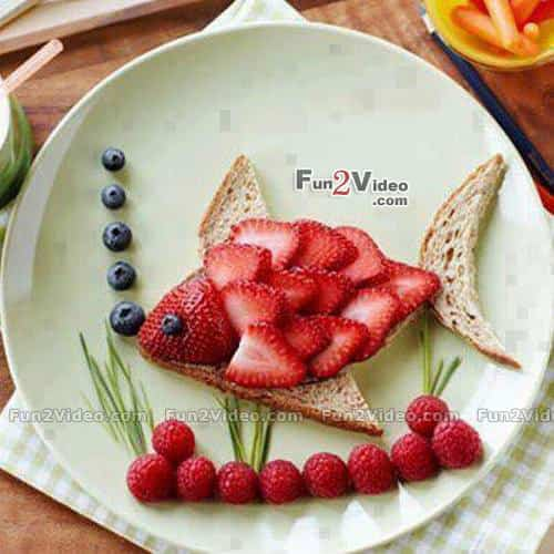 pez de fresa