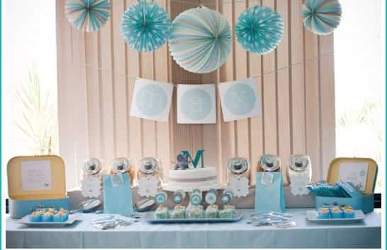 Ideas Para Decorar Un Baby Shower De Nio Bebs Y Embarazos
