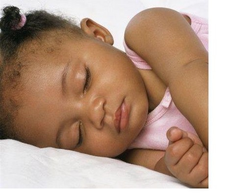 niña africana
