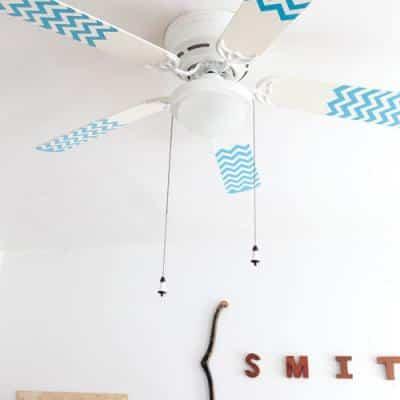 ventilador renovado para dormitorio infantil
