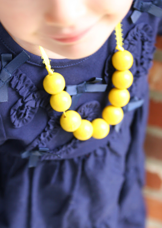 DIY collar para niña