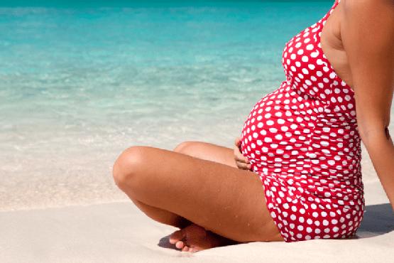 exposicion al sol en el embarazo