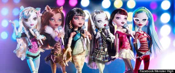 monster high cancion