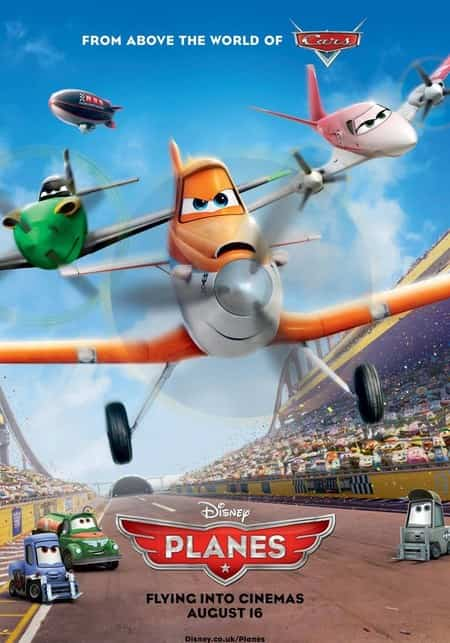 pelicula infantil Aviones