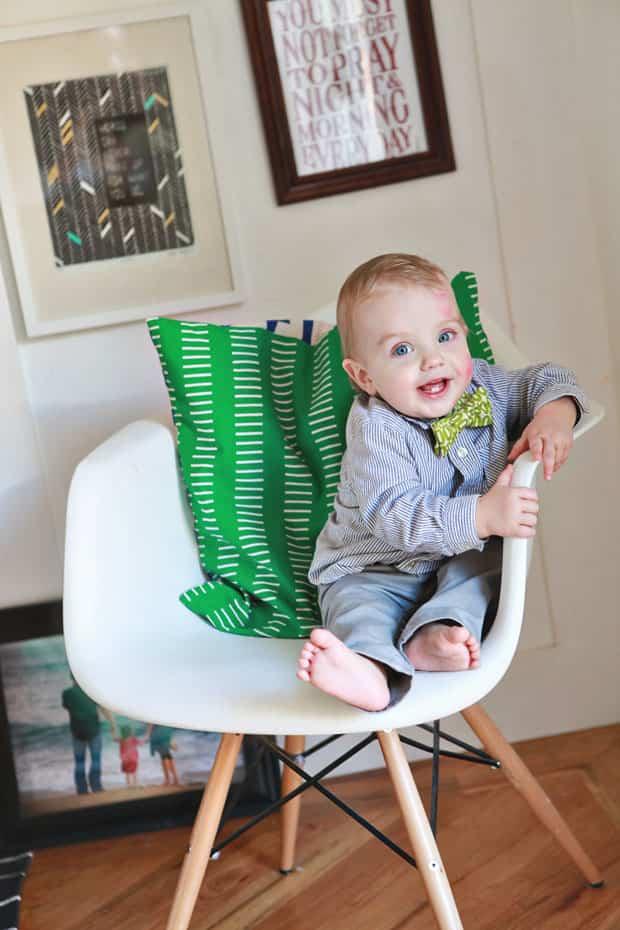 como hacer una pajarita infantil