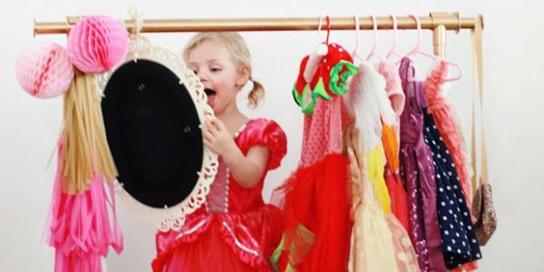 Cómo hacer un rincón infantil para pequeñas princesas