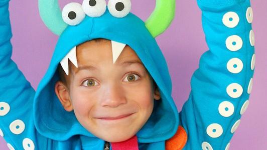Disfraz para Halloween: Divertido monstruo