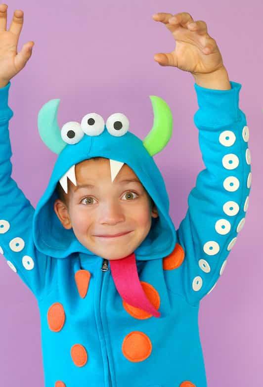 Disfraz para halloween de monstruo