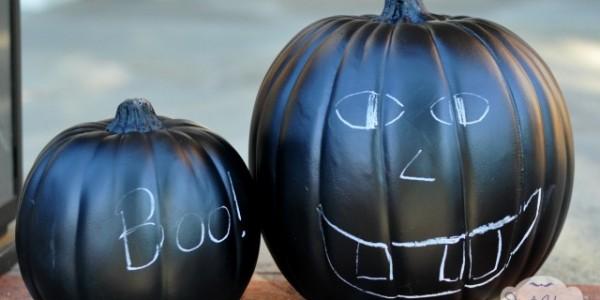 Halloween: Calabazas de pizarra para que tus hijos jueguen