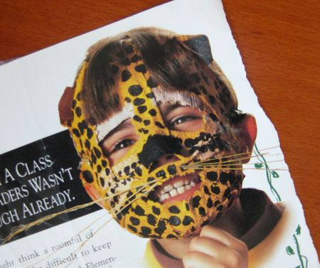 mascara para niños