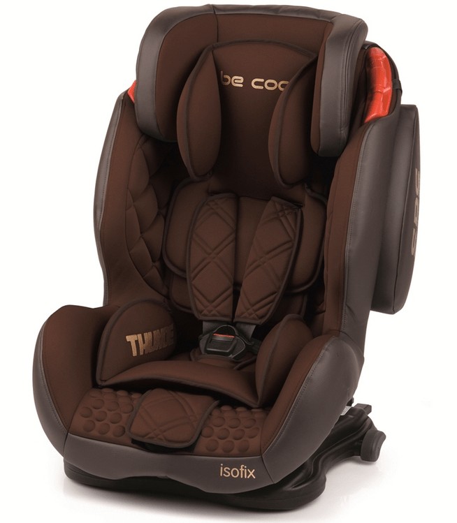 Silla Be Cool Fix Thunder Brownie para coche