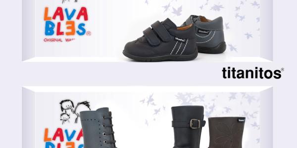TITANITOS Zapatos lavables para niños