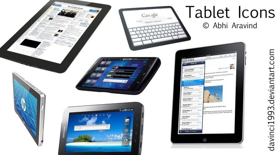 diferentes tipos de tablets