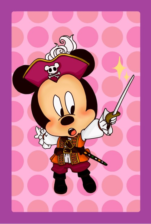 dibujo de mickey mouse