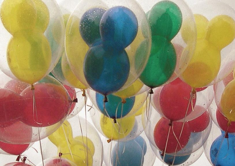 globos de mickey mouse
