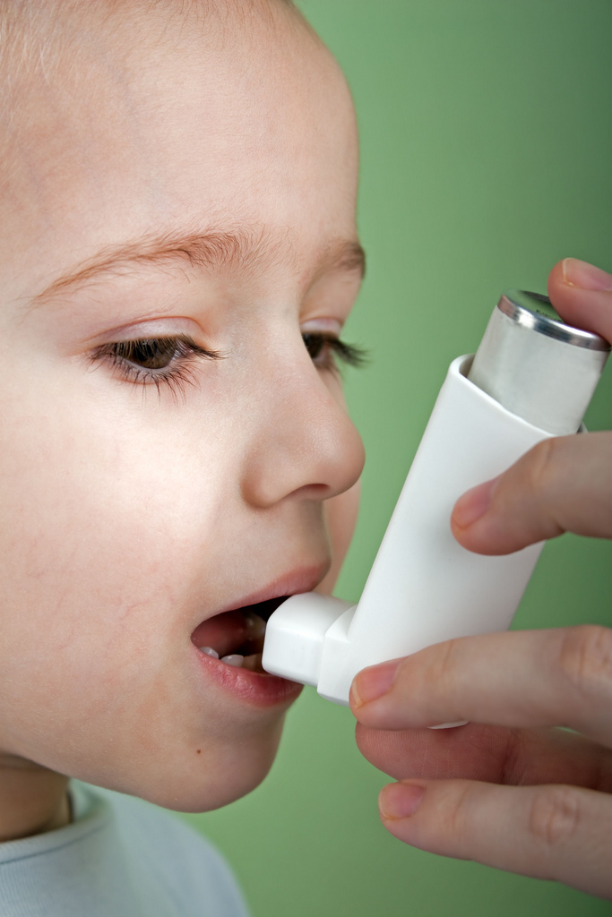 Síntomas del asma en los niños