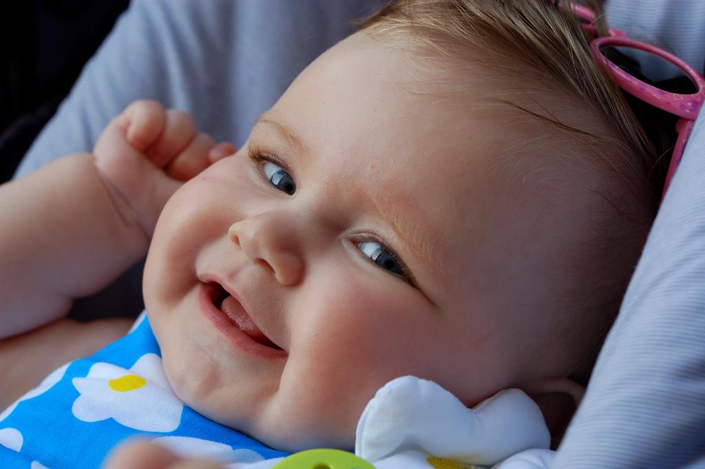 Disfrutar la musica en los bebés