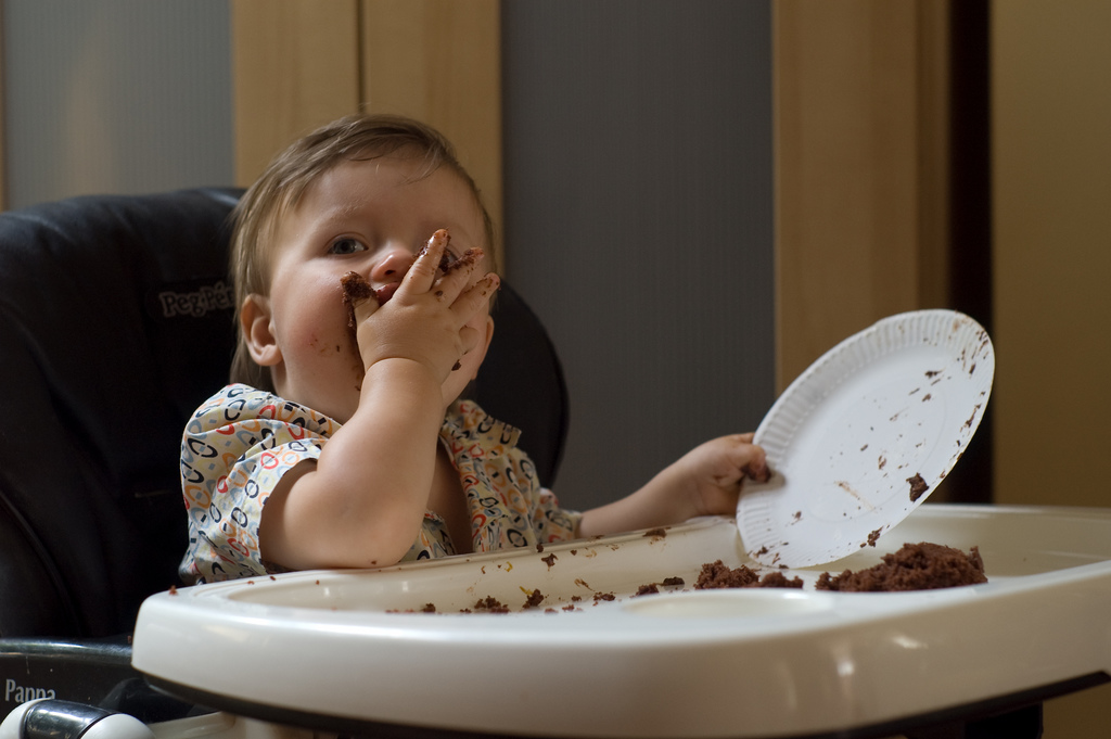 Bebé no quiere comer