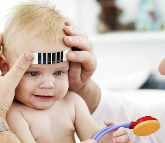 fiebre en bebés