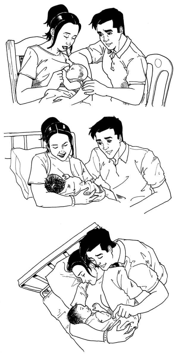 cuidados prenatales y postnatales