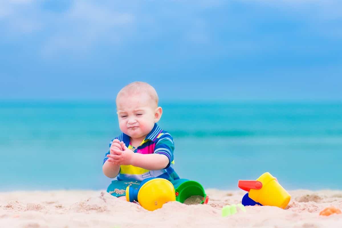 proteger al bebe del sol