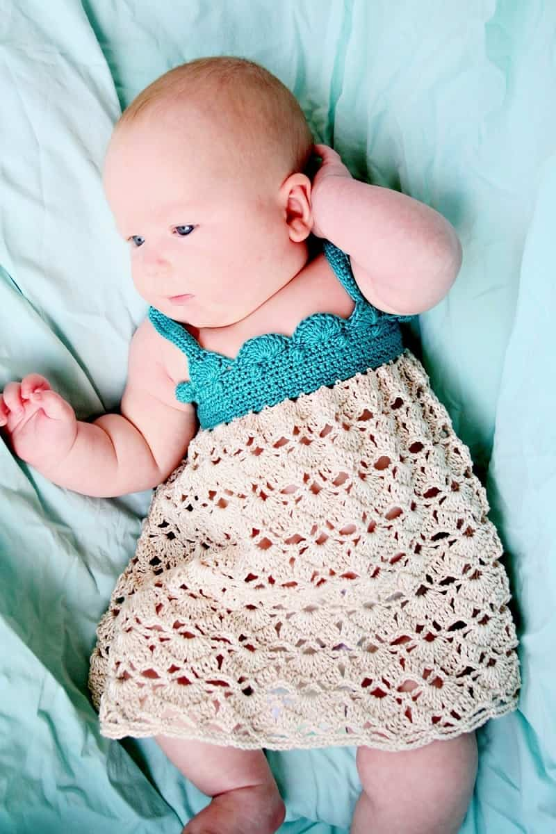 piel del bebé en verano