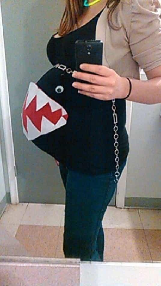 Halloween para mujeres embarazadas