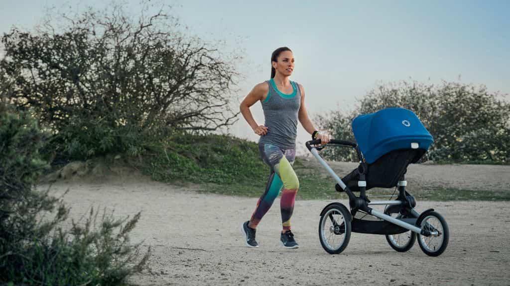 silla bebe running