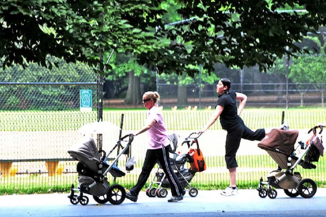 ejercicios que podemos hacer con nuestros bebés