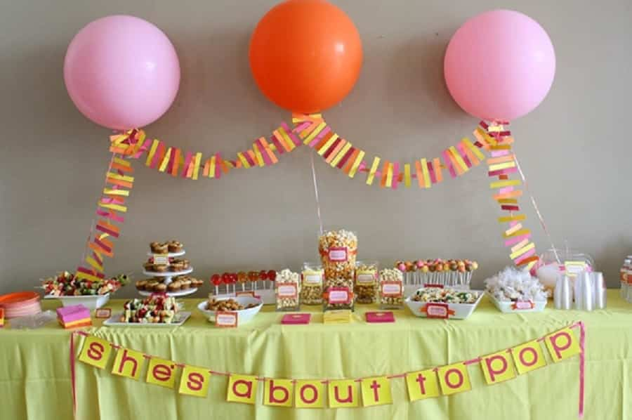 fiesta baby shower