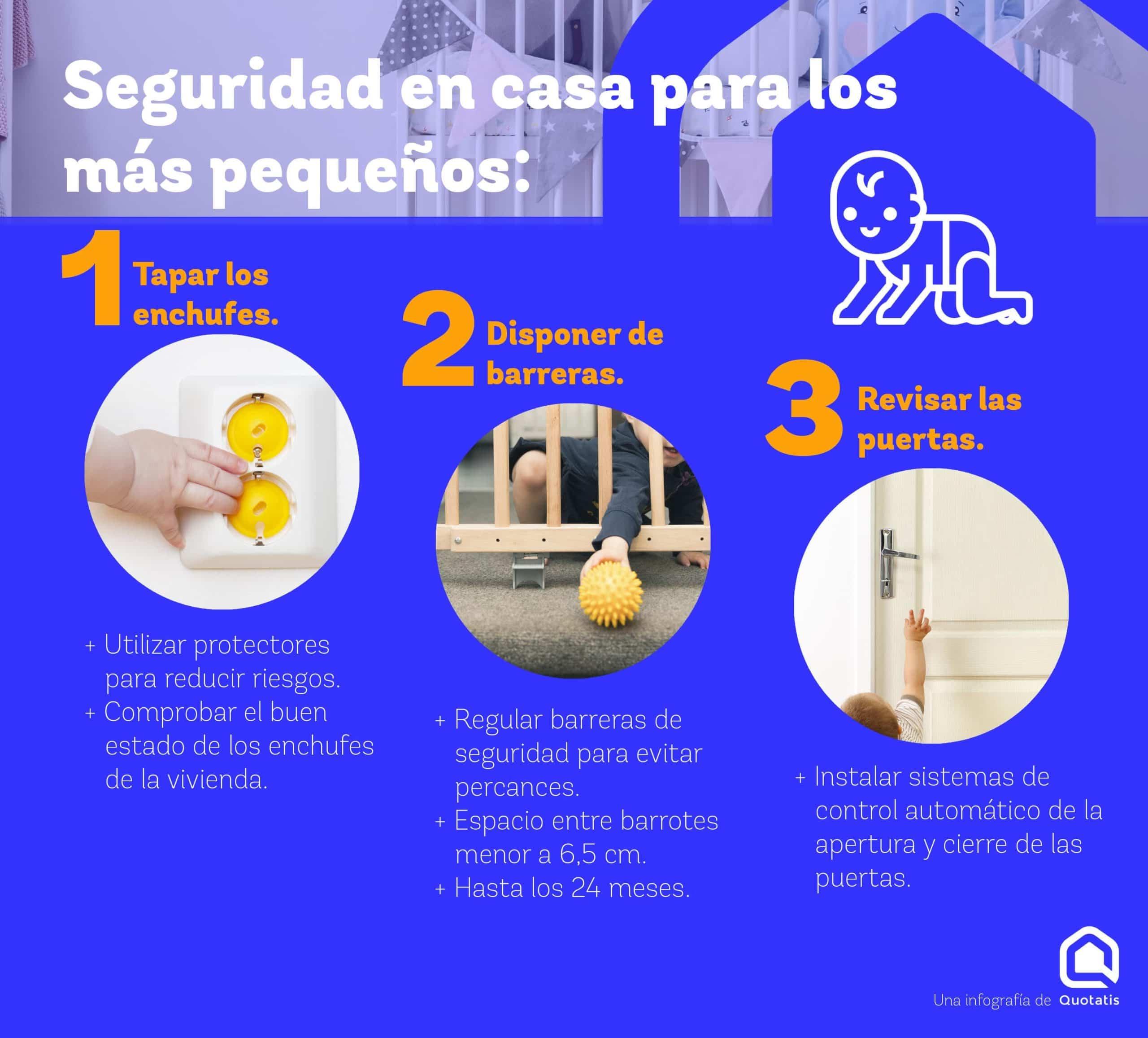 Seguridad en el hogar para los más pequeños ¡Adapta tu vivienda!