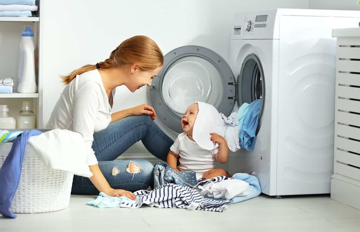 lavadora bebe