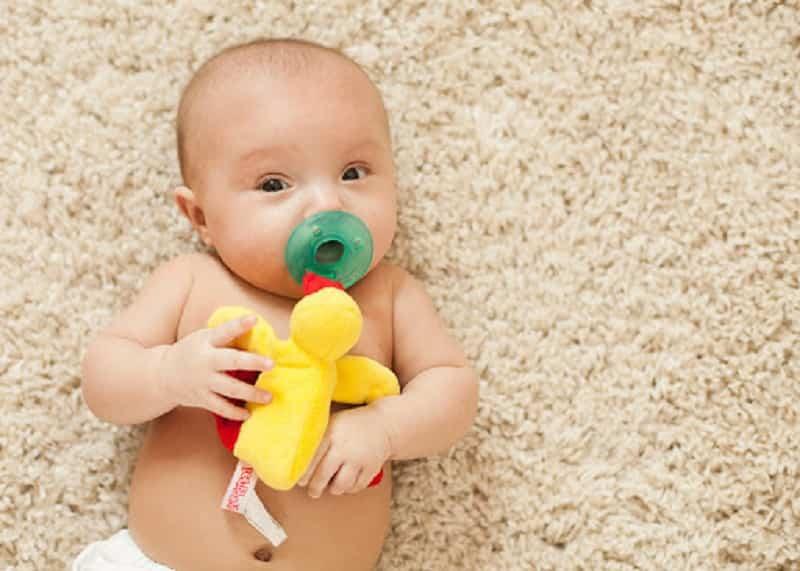 chupetes de bebés