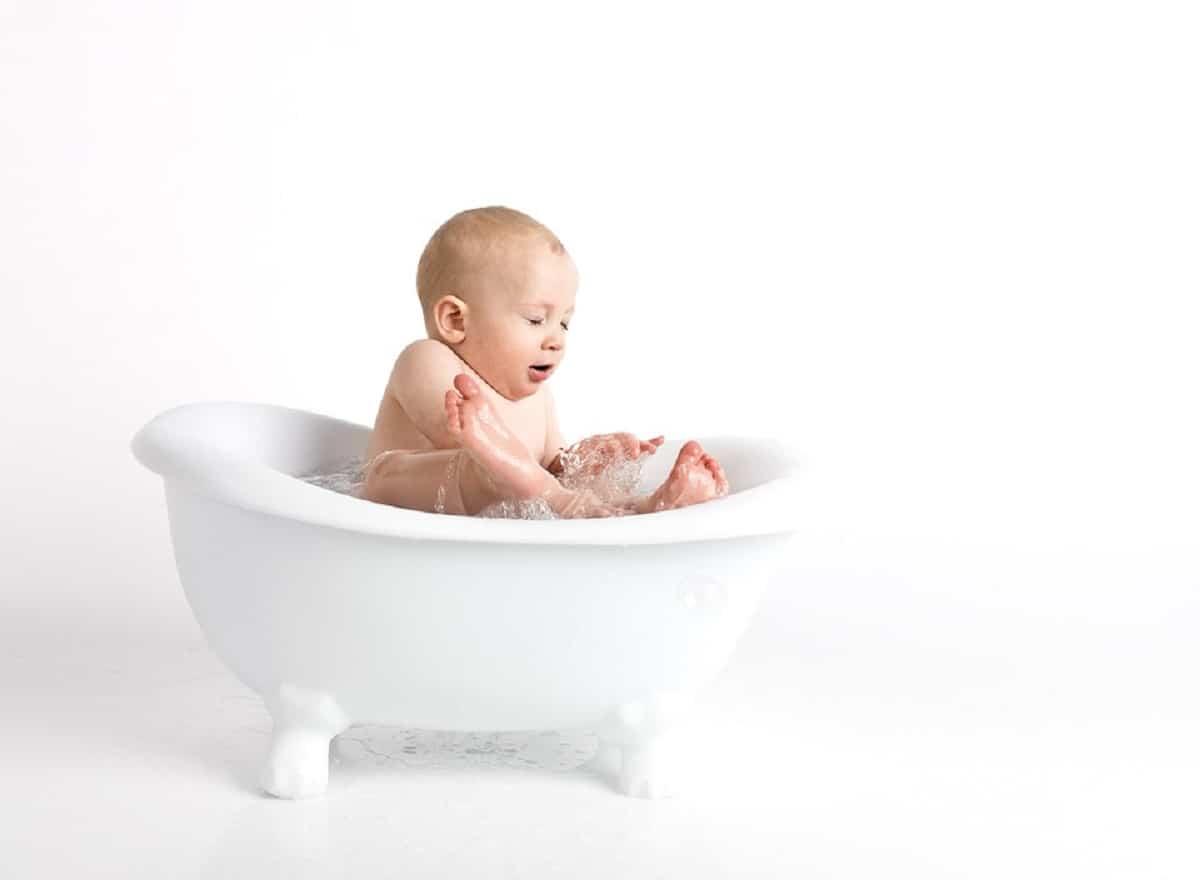 La bañera es uno de los productos imprescindibles cuando es bebé
