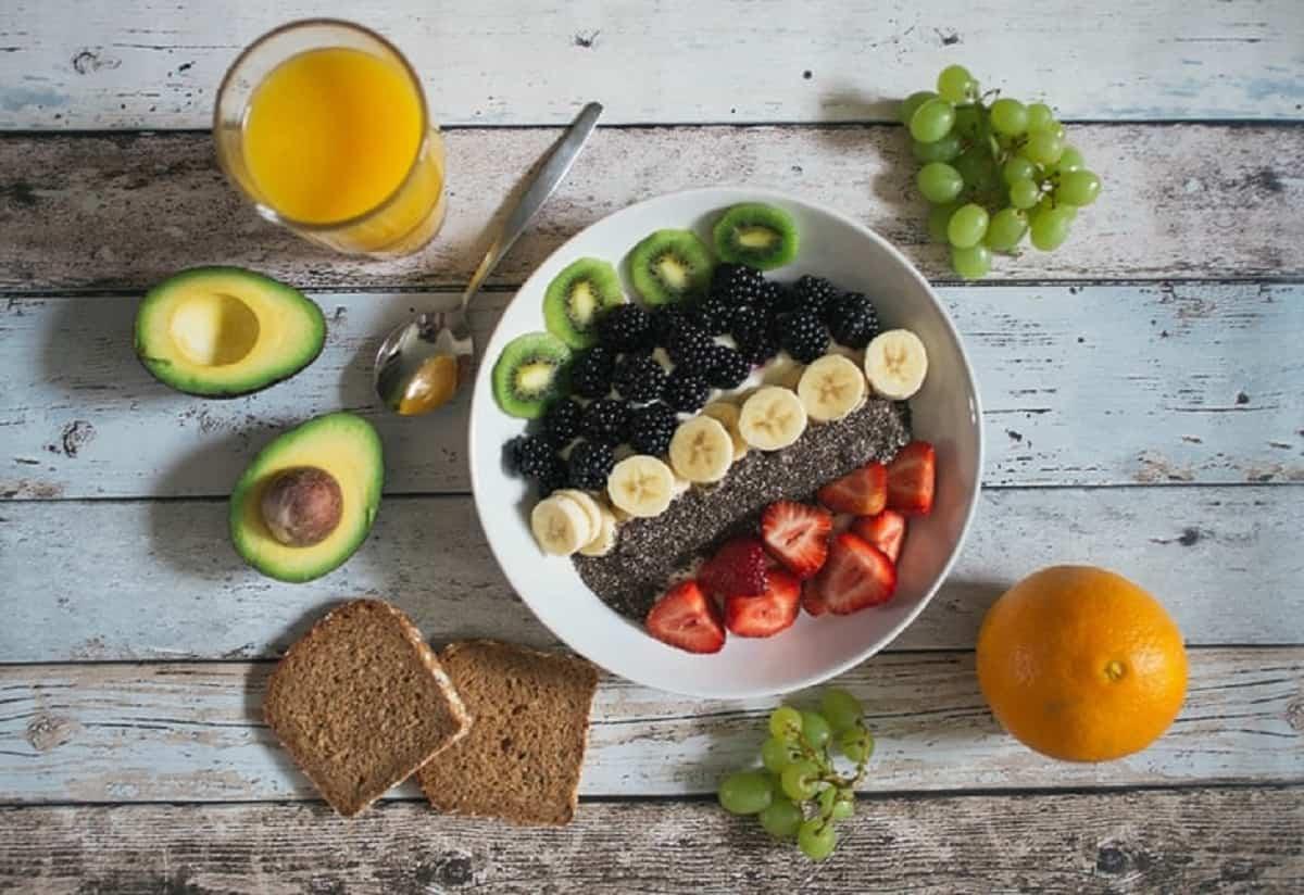 Para perder peso necesitas tener una alimentación equilibrada.