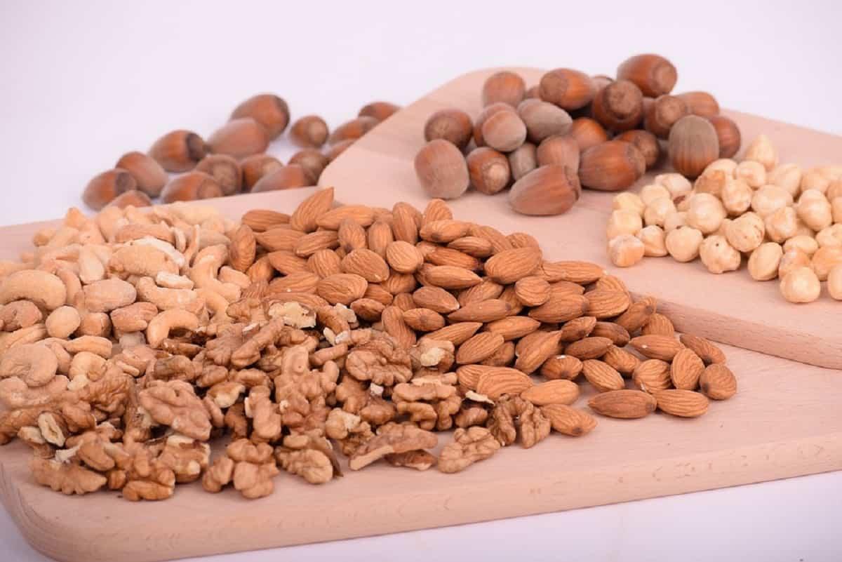 Las nueces  son ideales para agregar en la dieta vegetariana por su gran contenido de zinc y buenos ácidos grasos como omega3.